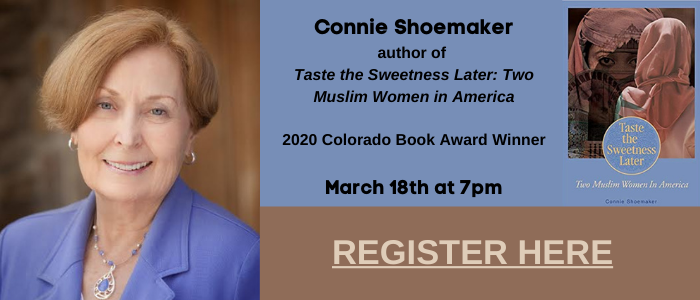 Connie Shoemaker at the Lyons Library