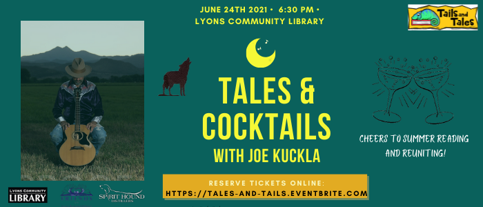Promote tales and cocktails event